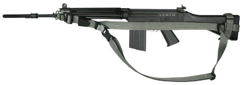 Specter Gear Sop 3 Point Sling With Erb, Fits Fn Fal Rifles With Fixed Stocks, Foliage Green front-728943