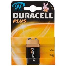 Batterie, pLUS-pile alcaline-bloc 9 v, dURACELL