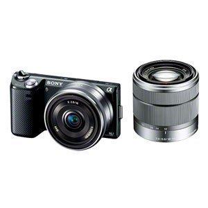 Sony Digital Slr Camera Nex 5N Double Lens Kit Black Nex-5Nd/B