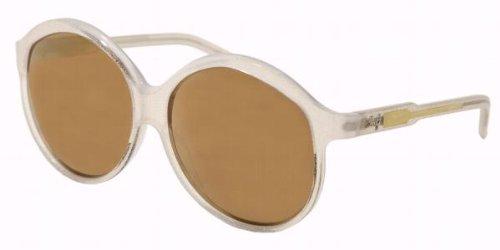 Authentic D&G Sunglasses 3014 MATTE CHRYSTAL GOLD GLITTER GOLD MIRROR 761F9