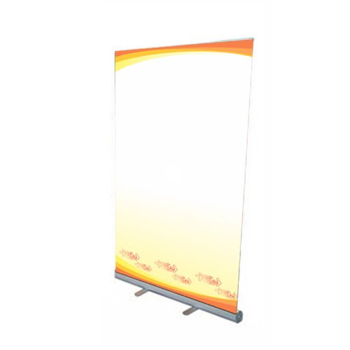 """Fantastic Displays 47"""" Retractable Banner Stand - Economy"""