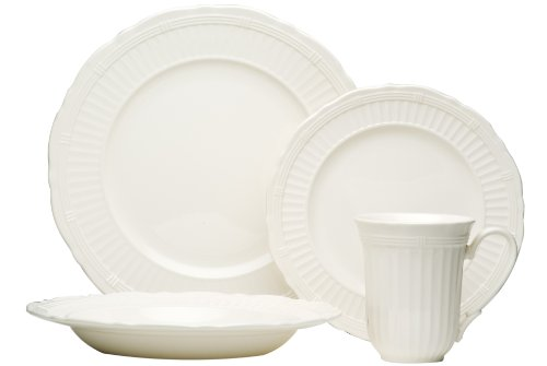 Red Vanilla Tuscan Villa 16-Piece Dinnerware Set (Red Vanilla Dishes compare prices)
