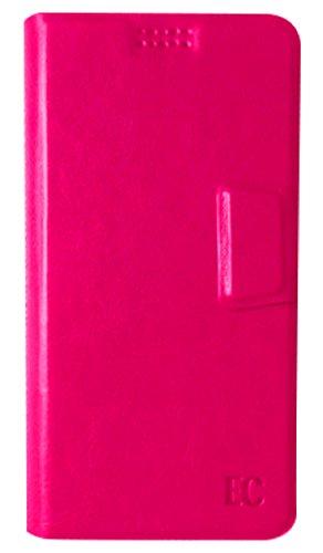 """Bijoux Pop Heart  Enrico Coveri Folio Universale per Schermi da 4"""" a 5"""", Rosa"""
