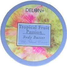 DELON Intense Moisturizing Tropical Fruit Passion Body Butter 6.9oz/196g