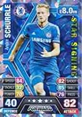 Match Attax 2013/2014 Andre Schurrle Chelsea Star Signing 13/14