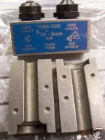 "Clarik 3/16"" Set Of Punch & Dies To Suit Brake Flare Tool"