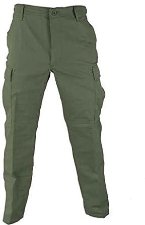 Propper BDU Trouser, 65/35 Poly/Cotton Battle Rip, Medium-Short, Olive F520138330M1