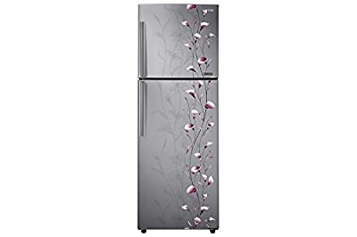Samsung RT27JAMSESZ Frost-free Double-door Refrigerator (253 Ltrs, 4 Star Rating, Tender Lily Silver)