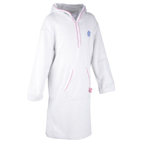 Splash About - Apres Splash Hooded Robe (Soft Towelling), Pink, 4-6 Years front-790031