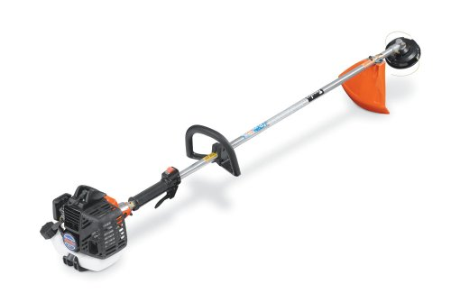 Tanaka TBC-255PF Commercial Grade Gas-Powered Straight-Shaft Grass Trimmer / Brush Cutter 25cc 1.3 HP 2-Stroke (CARB Compliant) (Commercial Gas Trimmers compare prices)