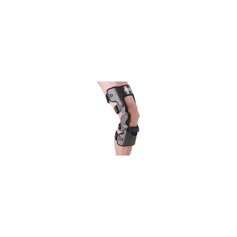 ffe0eed299 Ossur Flex Sport OTS Ligament Knee Brace XL White Right Standard Non PCL  White