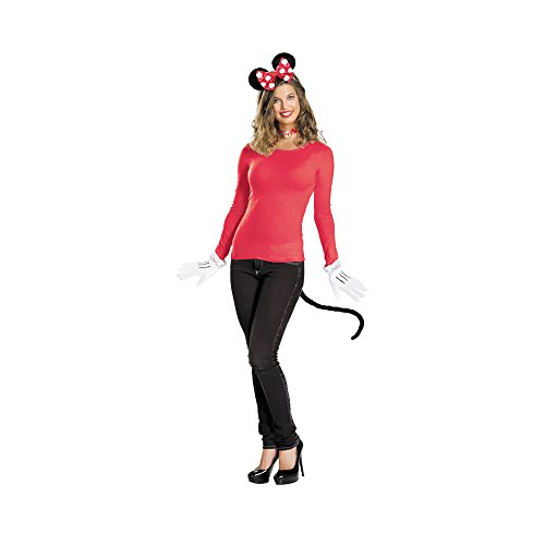 Morris Costumes Women's MINNIE MOUSE KIT, RED
