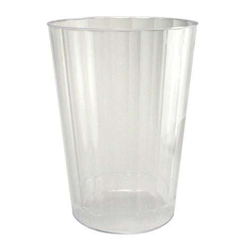 Enimay 10 oz. Clear Hard Plastic Tumbler Cup 20 Pack - 1