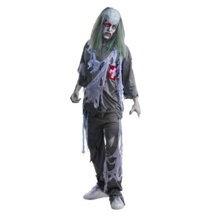 Zombie Doctor Adult Halloween Costume One Size Fits Most