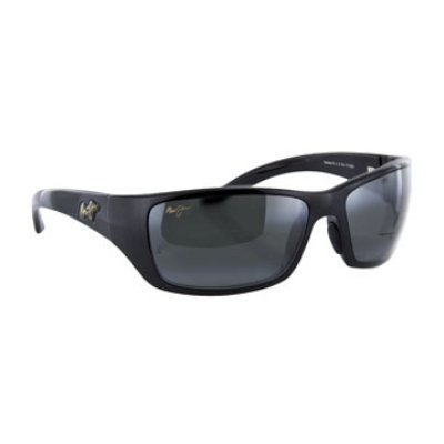 Maui Jim Canoes Sunglasses,Gloss Black Frame/Neutral Grey Lens,one size