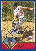 Tony Fiore Minnesota Twins 2003 Topps Autographed Hand Signed Trading Card. by Hall+of+Fame+Memorabilia