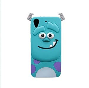 kangweichuang HTC Desire 626 / 626s Case,3D Cute Blue Monster Giant Horn Sulley University James P. Sullivan Sully Back Cover Back Cover Soft Silicone Case for HTC Desire 626 / 626s at Gotham City Store