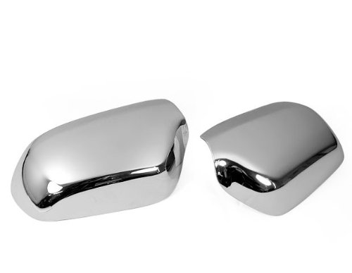 Brand New Chrome Side Mirror Cover Trims Kits For 2003 2004 2005 2006 2007 Mazda 2/Demio/Mazda 6/Atenza 2003-2009 Mazda 3 Axela накладки на пороги mazda 5 i 2005 2010 carbon