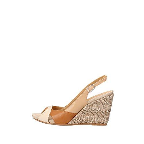 CALPIERRE sandali donna 40 EU cuoio pelle beige AG722