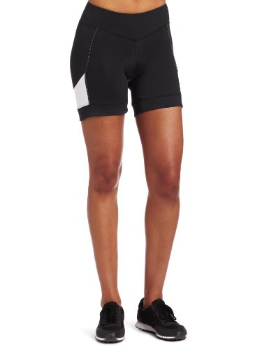 Pearl Izumi Women's Sugar Short,Black/White,Medium