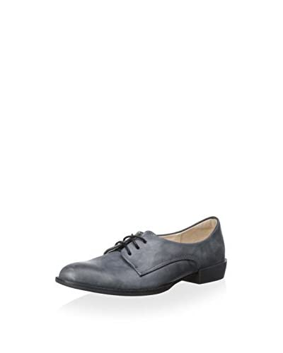 ALL BLACK Women's J Lace-Up Oxford