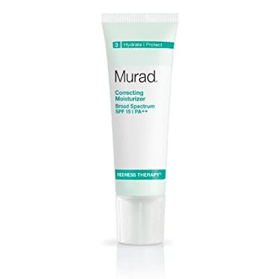 Murad Redness Therapy Correcting Moisturizer, SPF 15, 3: Hydrate/Protect, 1.7 fl oz (50 ml)