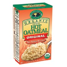 Nature's Path Organic Instant Hot Oatmeal Pouch Original, 14-Ounce Box (Pack of 6) ( Value Bulk Multi-pack)