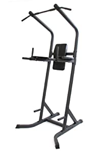 Gym Master Power Tower Home Gym - Black, 110x113x219cm