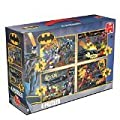 Batman 4-in-1 Jigsaw Puzzles Set