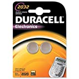 Brand New. Duracell DL2032 Battery Lithium for Camera Calculator or Pager 3V Ref 75072668 [Pack 2]
