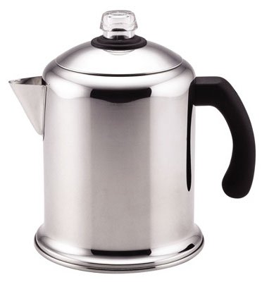 Meyer Cookware 50124 Yosemite Percolator, Stainless Steel, 8-Cup - Quantity 4