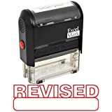 REVISED Self Inking Rubber Stamp - Red Ink (42A1539WEB-R)