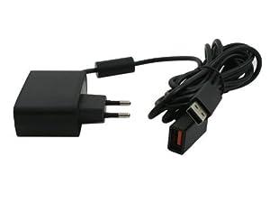 Adaptateur d'alimentation EU Chargeur Câble USB Secteur pour Kinect Xbox 360