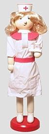 Nurse Wooden Christmas Nutcracker