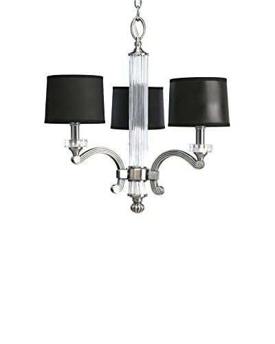 Progress Lighting Roxbury Chandelier, Classic Silver