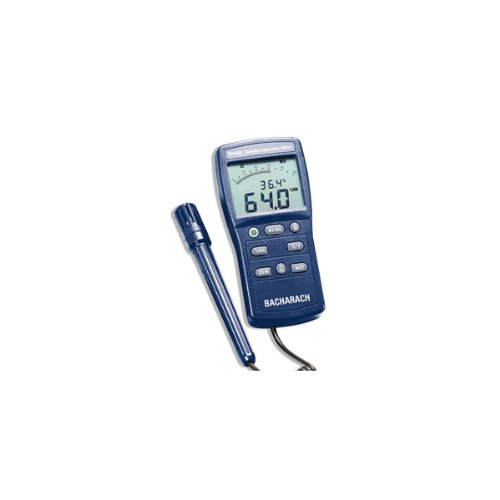 Bacharach 2002-1800 Model TH1800 Humidity-Temperature Meter with Case - 1