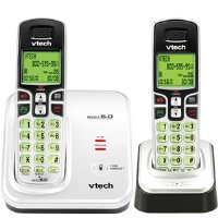 Vtech CS6219-2 DECT 6.0 Expandable 2-Handset Cordless Phone System with Caller ID and Handset Speakerphone (CS6219-2)