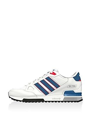 adidas Zapatillas Zx 750 (Blanco / Azul / Rojo)