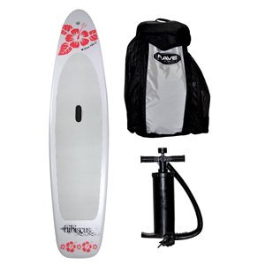 Rave Hibiscus Inflatable Stand-Up Paddle Board
