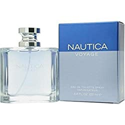NAUTICA VOYAGE by Nautica Gift Set for MEN: EDT SPRAY 3.4 OZ & AFTERSHAVE BALM 2.5 OZ...