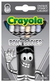 Crayola Limited Edition Halloween Crayons: Bony Bodies [BLACK]