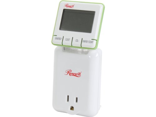 Rosewill RHSP-13001 Electricity Load Meter and Energy Monitor