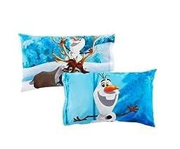 Frozen Build a Snowman Reversible Pillowcase
