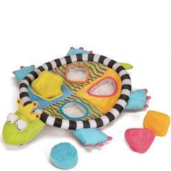 Manhattan Toy Royal Jungle Turtle Puzzle Bath Toy Baby