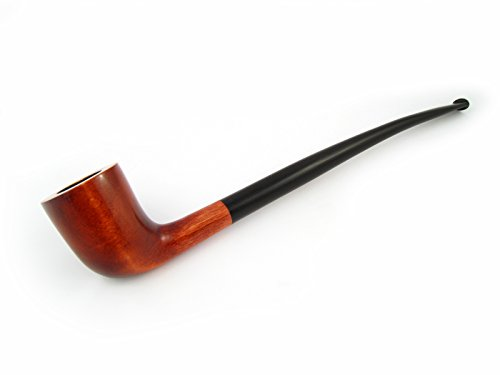 NEW-Fashion-White-LOTR-GANDALF-Churchwarden-Tobacco-Pipe-of-Pear-Root-Wood-Pipe