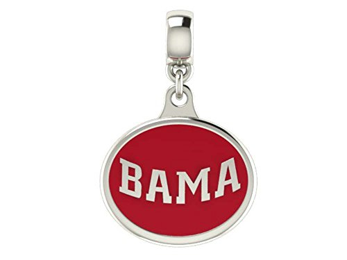 Alabama Crimson Tide Drop Fits All European Style Beaded Charm Bracelets