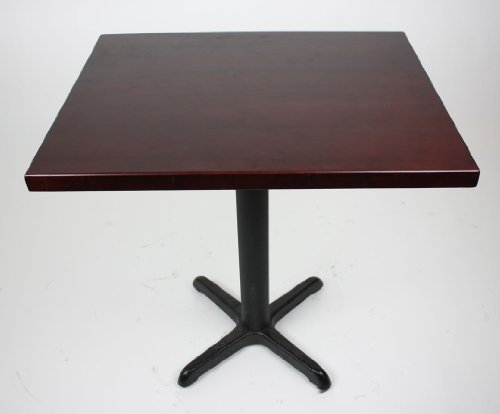 "Dark Mahogany Solid Wood Tabletop - 20"" Round (1.25"" thickness)"
