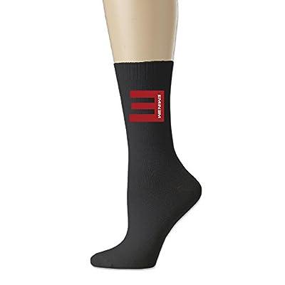 Casual Hip Hop Rapper Eminem Athletic Crew Socks Black