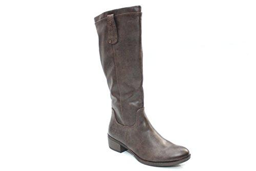 Da donna Marco Tozzi Tan Alto al ginocchio stivali invernali, taglia UK 3-9, marrone (Brown), 39,5 EU