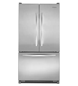 Kitchenaid KBFS20EVMS Counter-Depth French Door Bottom Mount Refrigerator